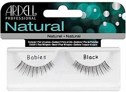 Perfumería y cosmética Pestañas postizas - Ardell Natural Babies Black