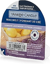 Perfumería y cosmética Cera aromática, limón y lavanda - Yankee Candle Lemon Lavender Wax Melt