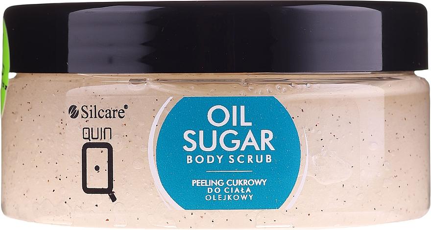 Exfoliante corporal a base de azúcar con coco - Silcare Quin Sugar Body Peel Oil