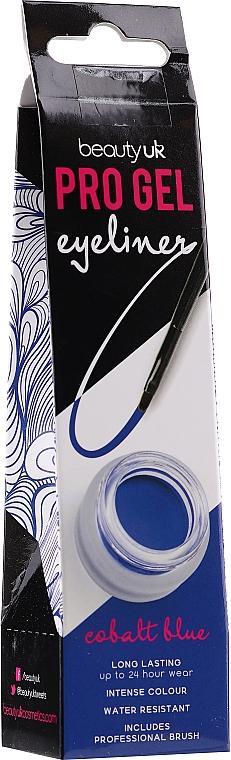 Delineador de ojos en gel resistente al agua - Beauty UK Pro Gel Eyeliner (03 -Cobalt Blue)