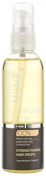 Tratamiento capilar fortificante con aceite de argán - Markell Cosmetics Natural Line
