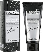Perfumería y cosmética Espuma facial limpiadora con baba de caracol - FarmStay Black Snail Deep Cleansing Foam