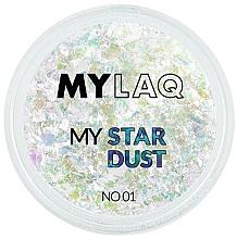 Perfumería y cosmética Polvo para uñas con estrellas - MylaQ My Star Dust