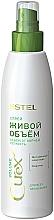 Perfumería y cosmética Spray voluminizador de cabello con complejo vitamínico y queratina - Estel Professional Curex Volume Spray