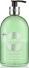 Perfumería y cosmética Jabón de manos líquido antibacterial ''aloe, té verde & lima'' - Baylis & Harding Aloe, Tea Tree and Lime Hand Wash