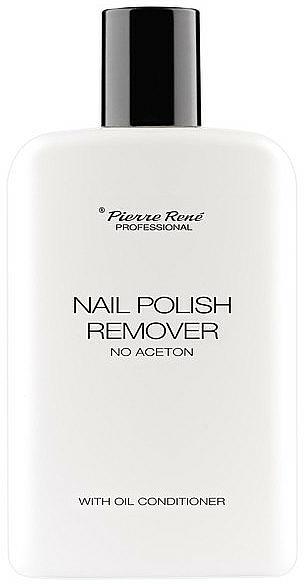 Quitaesmalte sin acetona - Pierre Rene Nail Polish Remover With Oil Conditioner