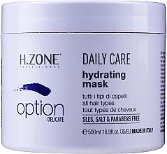 Perfumería y cosmética Mascarilla capilar hidratante de uso diario - H.Zone Option Daily Care Hydrating Mask