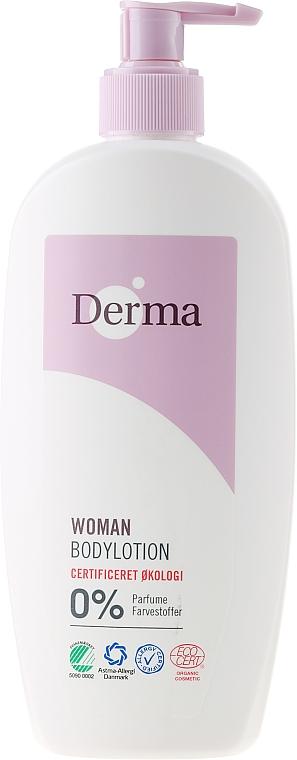 Loción corporal eco con aceite de semilla de albaricoque y aloe - Derma Eco Woman Body Lotion — imagen N3