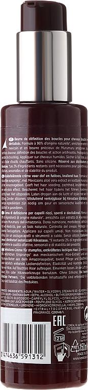 Crema para cabello natural con aceite de murumuru - Kerastase Aura Botanica Creme De Boucles — imagen N2
