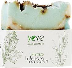 Perfumería y cosmética Jabón natural de cilantro y romero - Yeye Natural Coriander and Rosemary Soap
