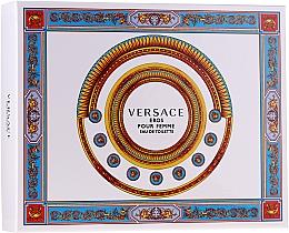 Perfumería y cosmética Versace Eros Pour Femme - Set (eau de toilette/50ml + loción corporal/50ml + gel de ducha/50ml)