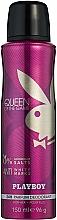 Perfumería y cosmética Playboy Queen of the Game - Desodorante antimanchas sin aluminio