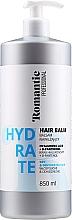 Perfumería y cosmética Acondicionador con ácido hialurónico y D-pantenol - Romantic Professional Hydrate Hair Balm