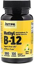 Perfumería y cosmética Complemento alimenticio en cápsulas de Metil B-12 con sabor a limón, 1000mcg, 100 cáp. - Jarrow Formulas Methyl B-12 Lemon Flavor 1000 mcg