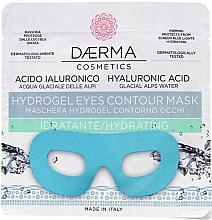 Perfumería y cosmética Mascarilla para contorno de ojos de hidrogel hidratante con ácido hialurónico - Daerma Cosmetics Hydrogel Eyes Contour Mask