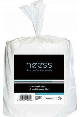 Almohadillas de algodón para manicura - Neess Cotton Pads