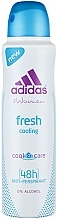 Perfumería y cosmética Desodorante antitranspirante con polvo de algodón - Adidas Anti-Perspirant Fresh Cooling 48h