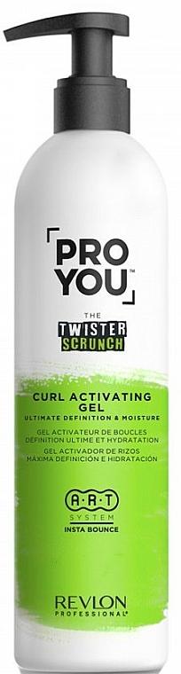 Gel activador de rizos, máxima definición e hidratación - Revlon Professional Pro You The Twister Scrunch Curl Activator Gel
