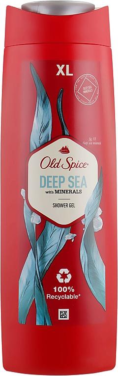 Gel de ducha con minerales - Old Spice Deep Sea With Minerals Shower Gel