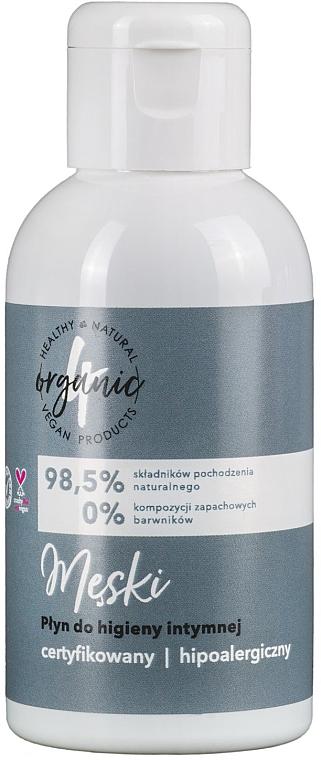Gel de higiene íntima para hombres con componentes 98,5% de origen natural - 4Organic Intimate Gel For Man