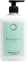 Perfumería y cosmética Loción corporal revitalizante con extractos de hierbas, aceites aromáticos puros y vitaminas - Minerallium Mineral Therapy Restoring Body Lotion