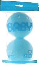 Perfumería y cosmética Set esponjas de baño para bebés - Suavipiel Baby Soft Sponge