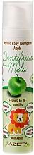 Perfumería y cosmética Pasta dental orgánica para bebés con sabor a manzana - Azeta Bio Organic Baby Toothpaste Apple