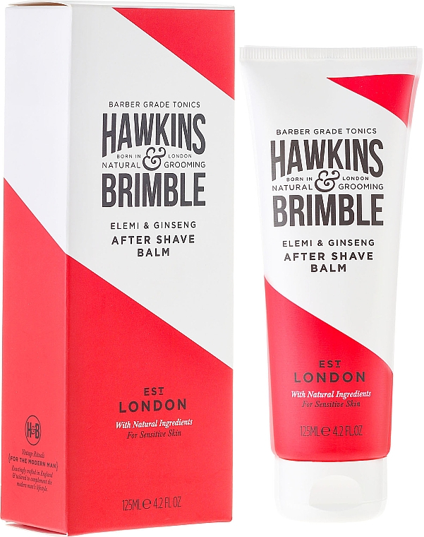 Bálsamo aftershave - Hawkins & Brimble Elemi & Ginseng Post Shave Balm — imagen N1
