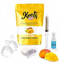 Perfumería y cosmética Kit de blanqueamiento dental con sabor a mango - Keeth Mango Teeth Whitening Kit