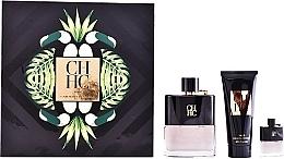 Perfumería y cosmética Carolina Herrera CH Men Prive - Set (eau de toilette/100ml + bálsamo aftershave/100ml + eau de toilette/mini/7ml)