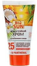Perfumería y cosmética Crema protectora solar con D-pantenol, resistente al agua, SPF 25 - Bio Panthenol