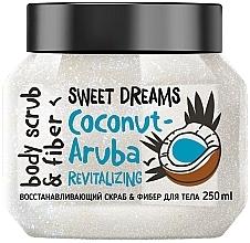 Perfumería y cosmética Exfoliante corporal revitalizante con fibras y aceite de coco - MonoLove Bio Coconut-Aruba Revitalizing Body Scrub