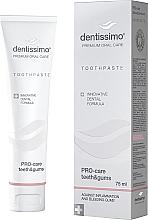 Perfumería y cosmética Pasta dental con aceite de menta, eucalipto y extracto de geranio - Dentissimo Pro-Care Teeth&Gums