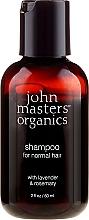 Perfumería y cosmética Champú con lavanda y romero - John Masters Organics Lavender Rosemary Shampoo (mini)