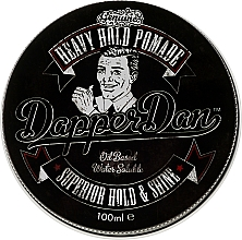 Perfumería y cosmética Pomada moldeadora de cabello con aceite de ricino - Dapper Dan Heavy Hold Pomade