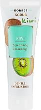 Perfumería y cosmética Exfoliante facial con jugo de kiwi - Korres Kiwi Gentle Exfoliating Scrub