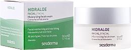Perfumería y cosmética Crema facial hidratante con jugo de aloe y extracto de centella asiática - SesDerma Laboratories Hidraloe Moisturizing Face Cream