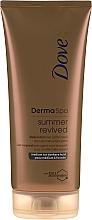 Perfumería y cosmética Loción corporal autobronceadora - Dove Derma Spa Summer Dark Revived Body Lotion
