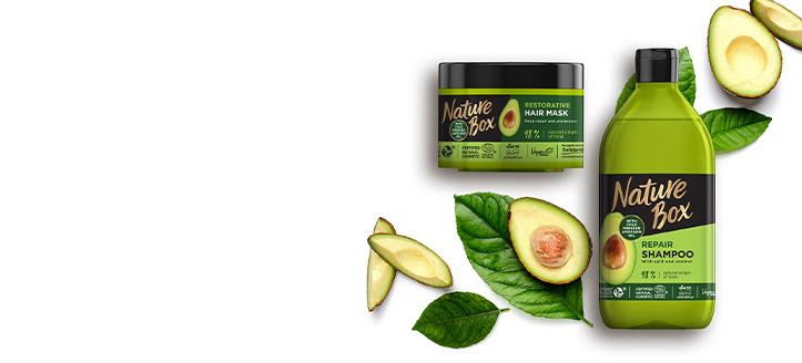 Por la compra de tres productos promocionales Nature Box, llévate el de menor importe de regalo