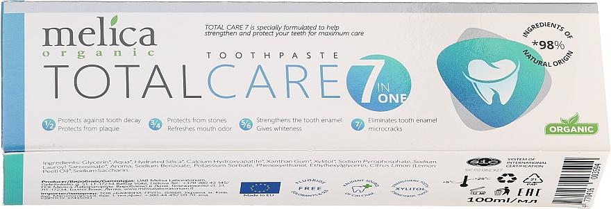 Pasta dental orgánica cuidado total - Melica Organic Toothpaste Total Care 7