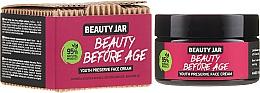 Perfumería y cosmética Crema facial natural con extracto de acmella y aceite de aguacate - Beauty Jar Beauty Before Age Youth Preserve Face Cream