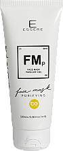 Perfumería y cosmética Mascarilla facial purificante con arcilla y aceite de cáñamo, vegana - Essere FMp Hemp & Clay Purifying Face Mask