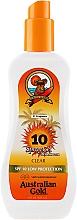 Perfumería y cosmética Spray gel protector solar con aceite de árbol de té & aloe vera - Australian Gold SPF 10 Spray Gel