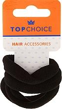 Perfumería y cosmética Goma de pelo, negro - Top Choice