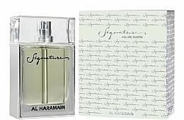Perfumería y cosmética Al Haramain Signature - Eau de toilette