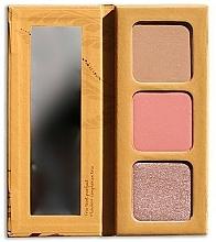 Perfumería y cosmética Paleta de contorno facial - Couleur Caramel Trio Palette