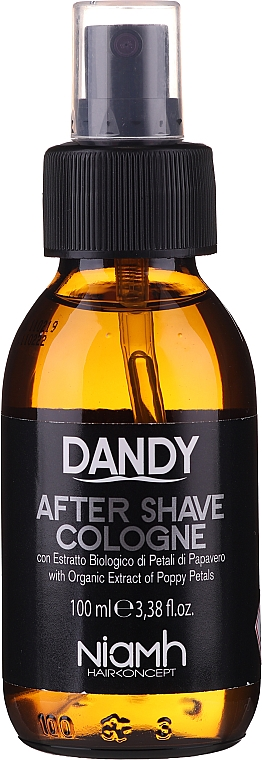 Agua de colonia para después del afeitado - Niamh Hairconcept Dandy After Shave Aftershave Cologne