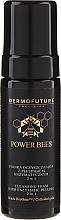 Perfumería y cosmética Espuma facial limpiadora y peeling enzimático con oro coloidal 2 en 1 - Dermofuture Power Bees Cleansing Foam 2in1