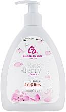 Perfumería y cosmética Jabón líquido con 100% aceite de rosa - Bulgarian Rose Rose Berry Nature Liquid Soap