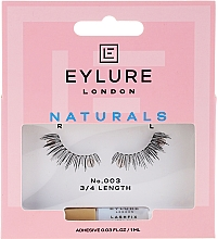 Perfumería y cosmética Pestañas postizas con pegamento incluido - Eylure Pre-Glued Accents Lash №003